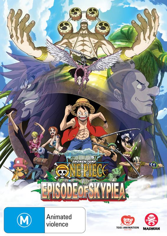 One Piece: Episode of Skypiea TV Special on DVD