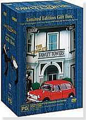 Fawlty Towers Gift Pack on DVD