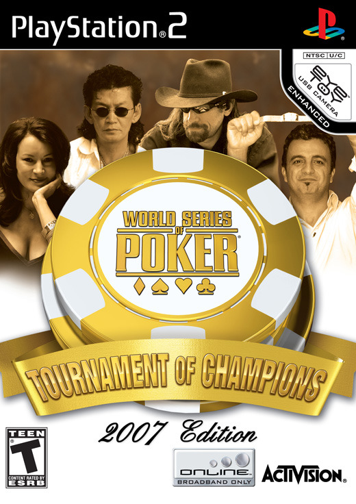 World Series of Poker 2007: Tournament of Champions for PlayStation 2