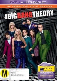 The Big Bang Theory - The Complete Sixth Season on DVD