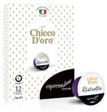 Chicco D'oro Ristretto Coffee Capsules (12 Espressotoria Compatible)