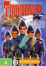 Thunderbirds - The Complete Series (8 Disc Slimline Set) on DVD