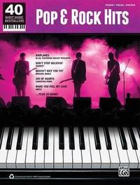 Pop & Rock Hits : Piano/Vocal/Guitar