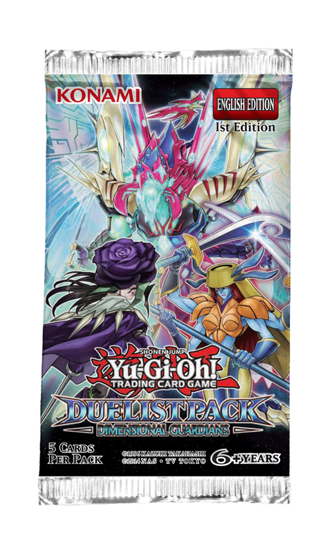 Yu-Gi-Oh! Duelist Pack: Dimensional Guardians Single Booster (5 cards)
