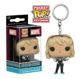 Marvel - Spider-Gwen (Unhooded) Pocket Pop! Key Chain