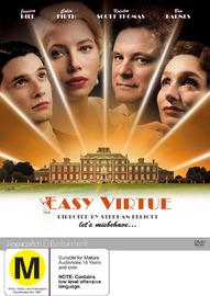 Easy Virtue on DVD