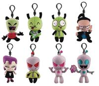 Invader Zim: Plush 3-inch Backpack Hanger - Blind Bag