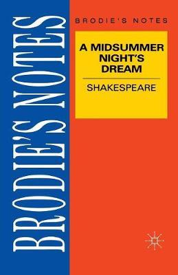 Shakespeare: A Midsummer Night's Dream by T.W. Smith image