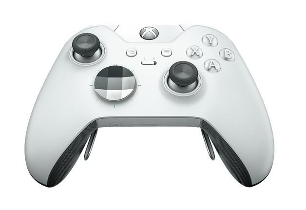Xbox One Elite Wireless Controller - White for Xbox One