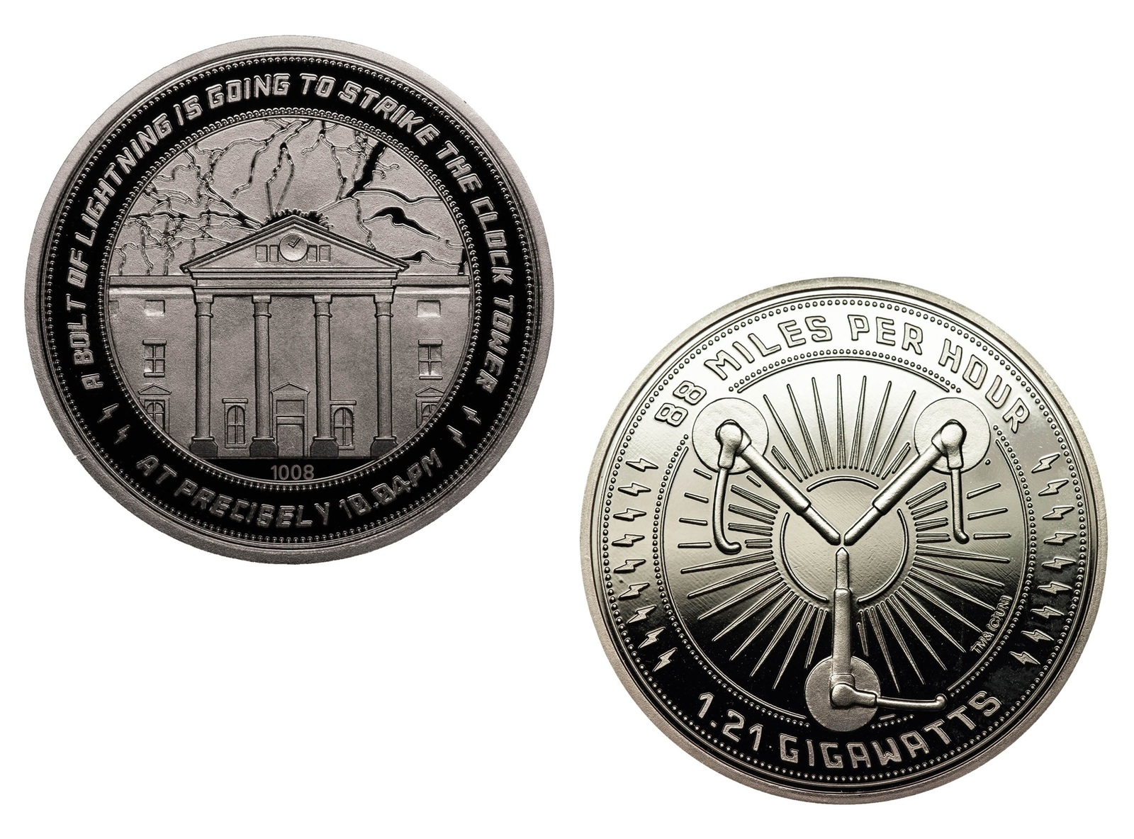 Back to the Future: Collectible Coin - Clock Tower (Silver Edition) image