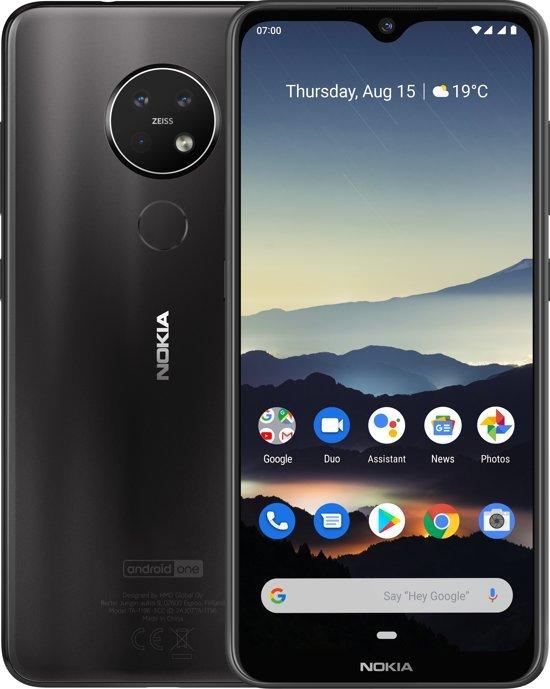 Nokia 7.2 Dual Sim (128GB/6GB RAM) - Charcoal