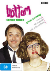 Bottom - Series 3 on DVD