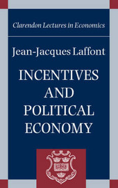 Incentives and Political Economy by Jean-Jacques Laffont image