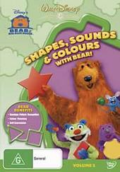 Bear In The Big Blue House - Shapes, Sounds & Colours With Bear on DVD