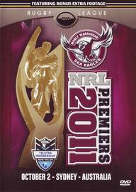 2011 - NRL Premiers Manly Seas Eagles on DVD