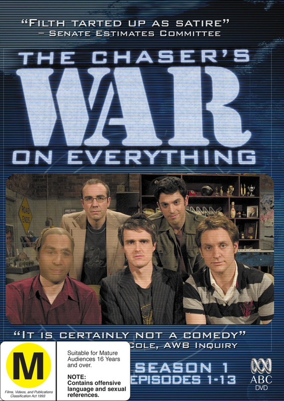 The Chaser's War on Everything - Season 1: Episodes 1-13 (2 Disc Set) on DVD