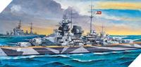 Academy Tirpitz With Motor 1/800 Model Kit
