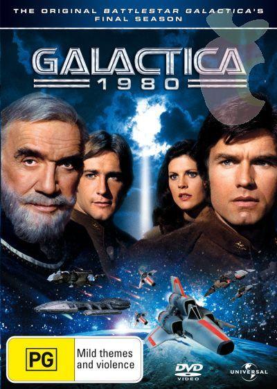Galactica 1980 (2 Disc Set) on DVD