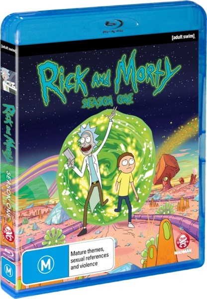 Rick and Morty - The Complete First Season on Blu-ray image
