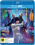 Ghost In The Shell on Blu-ray, 3D Blu-ray