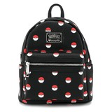 Loungefly Pokemon Pokeball Print Mini Backpack