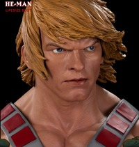 Masters of the Universe: He-Man - 1:1 Scale Life-Size Bust