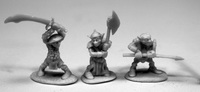 Dark Heaven: Bones - Goblin Warrior (3-pc)
