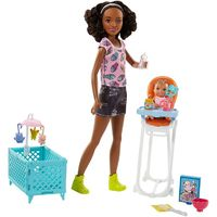 Barbie: Babysitters Inc. - Doll & Playset (Feeding Time)