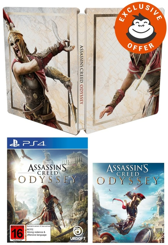 Assassin's Creed Odyssey Athenian Edition for PS4