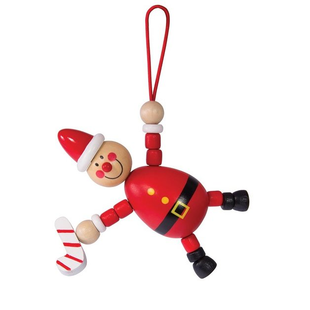 IS Gift: Wooden Christmas Decoration - (Assorted Designs)