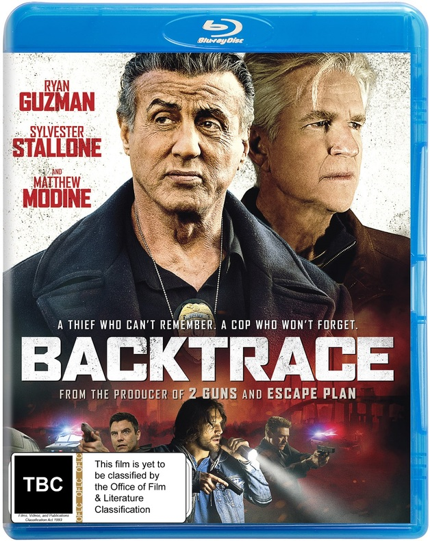 Backtrace on Blu-ray