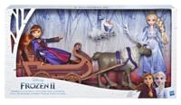 Frozen II: Sledding Sven & Sisters - Doll Playset image