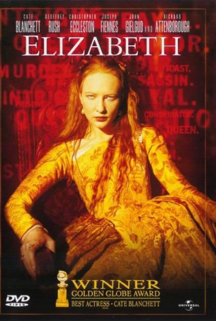 Elizabeth on DVD