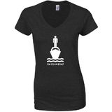 I'm On A Boat Black Women's T-Shirt (XL)