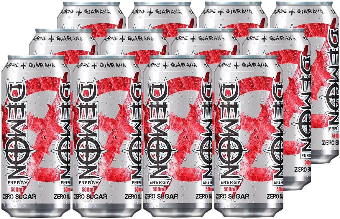 Demon Energy Zero Sugar 500ml 12 Pack image