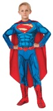 DC Comics: Superman Deluxe Muscle Suit - (Size 6-8)