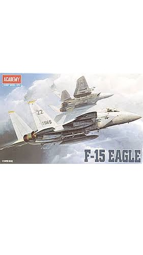 Academy F-15C Eagle 1/144 Model Kit