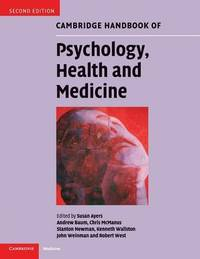 Cambridge Handbook of Psychology, Health and Medicine image