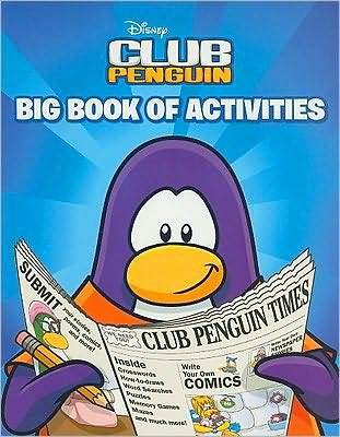 Club Penguin: Big Book of Activities by Katherine Noll image