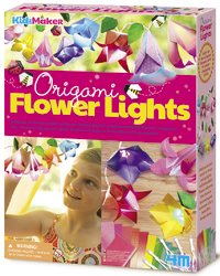 4M KidzMaker: Origami Flower Lights - Craft Kit