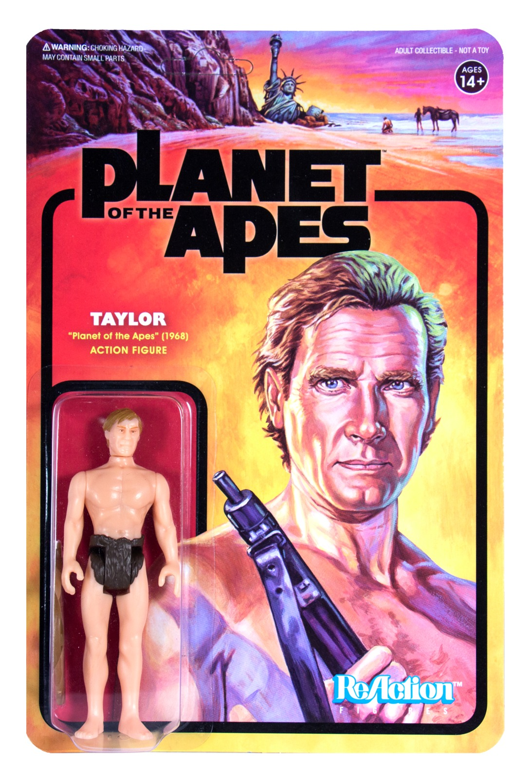 Planet of the Apes: Taylor - ReAction Figure image
