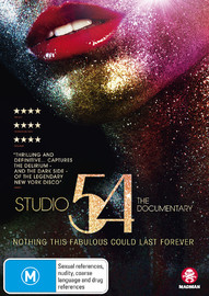 Studio 54: The Documentary on DVD