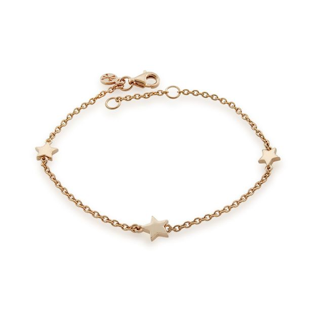 Bo + Bala: Wish Upon a Star Bracelet Rose Gold - Exclusive Style