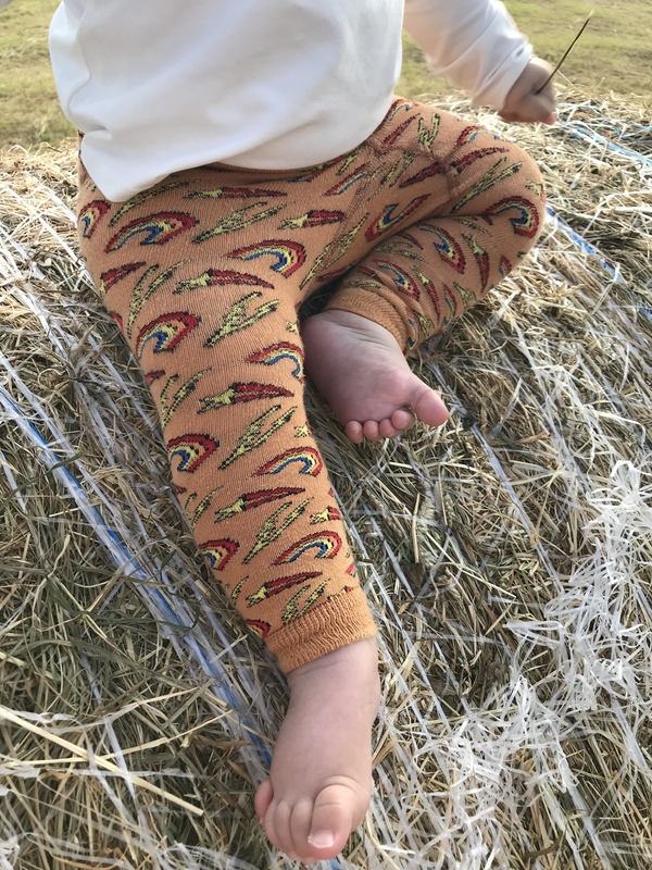 Slugs and Snails: Retro Footless 4-5 years