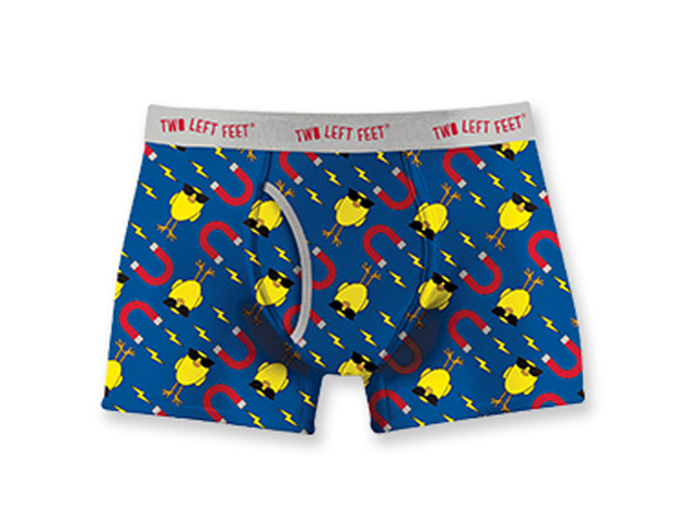 Two Left Feet: Chick Magnet Mens Underwear - Large