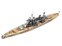 Revell - 1:700 Battleship HMS Duke of York