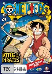 One Piece - Vol. 1: King Of The Pirates on DVD