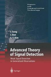 Advanced Theory of Signal Detection by Lickho Song