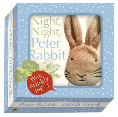 Night Night Peter Rabbit Cloth Book by Beatrix Potter image