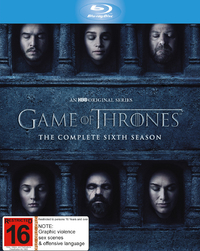 Game of Thrones - The Complete Season Six on Blu-ray